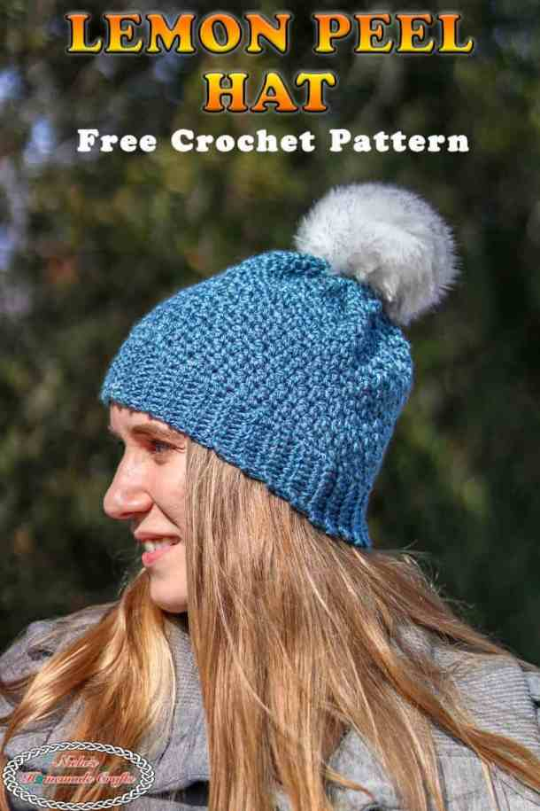 Free Crochet Pattern for the Lemon Peel Hat