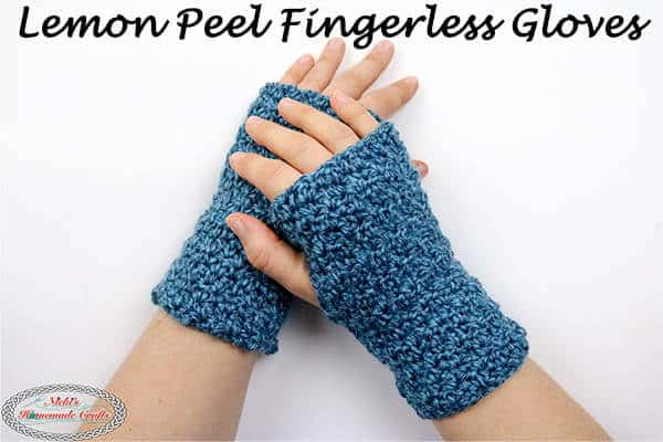 How To Crochet Easy Beginner Fingerless Gloves Free Pattern
