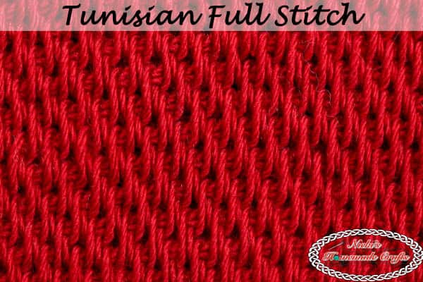 How To Crochet The Tunisian Full Stitch Easy Tutorial
