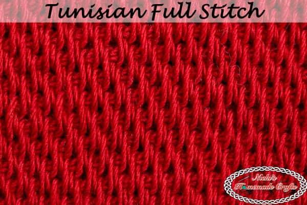 Crochet Tunisian Full Stitch Tutorial