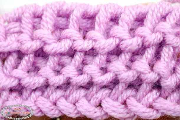 Crochet Purl Stitch