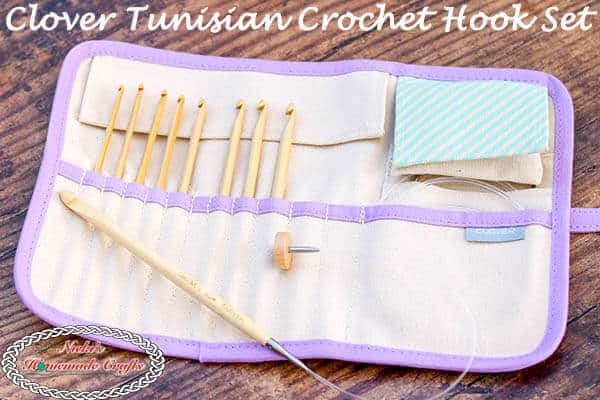 Why You Need The Clover Interchangeable Tunisian Crochet Hook Set