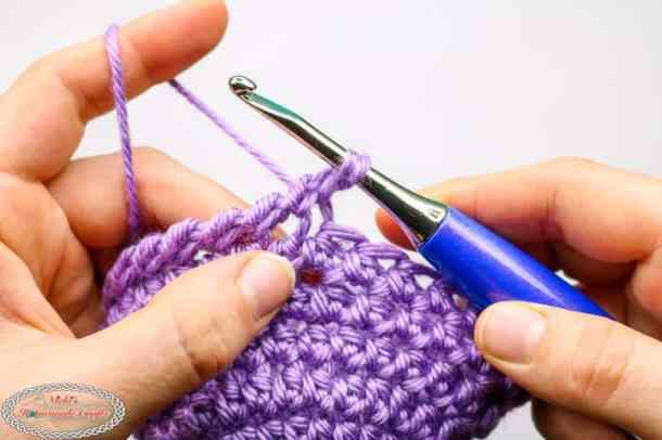 Easyily Crochet Crab Stitch aka Reversed Single Crochet