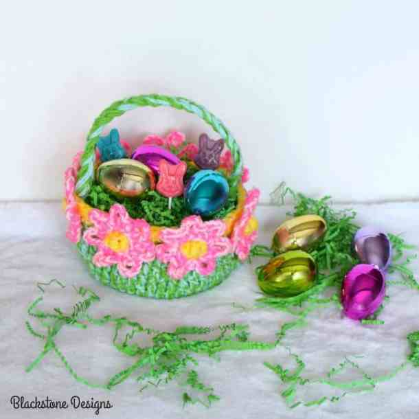 Blooming Flower Basket - Blackstone Designs