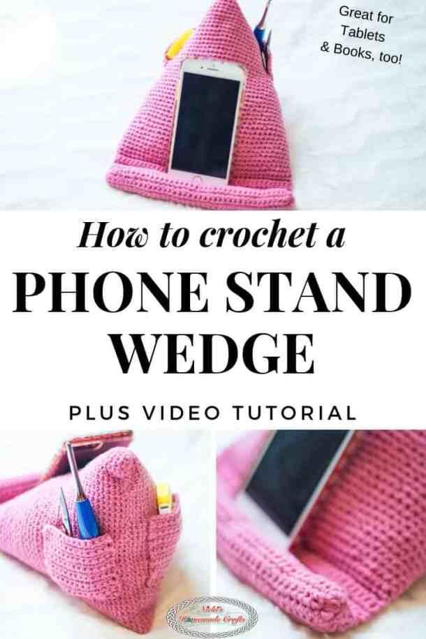 Crochet Phone Stand