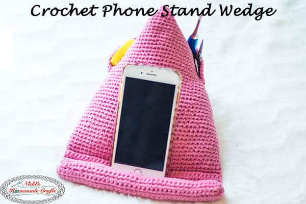 Crochet Phone Stand Pattern