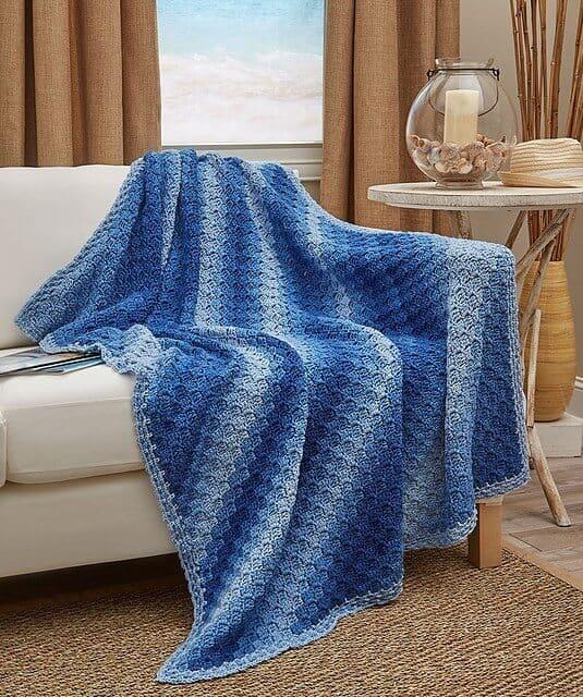 Ombre Throw Blanket