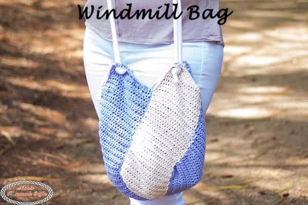 Windmill Crochet Bag