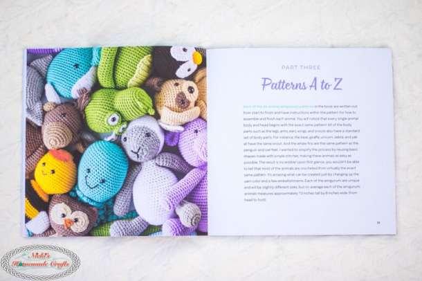 Content of Crochet Cute Critters Book