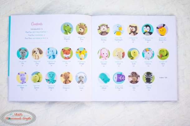 All animals of Crochet Cute Critters Book