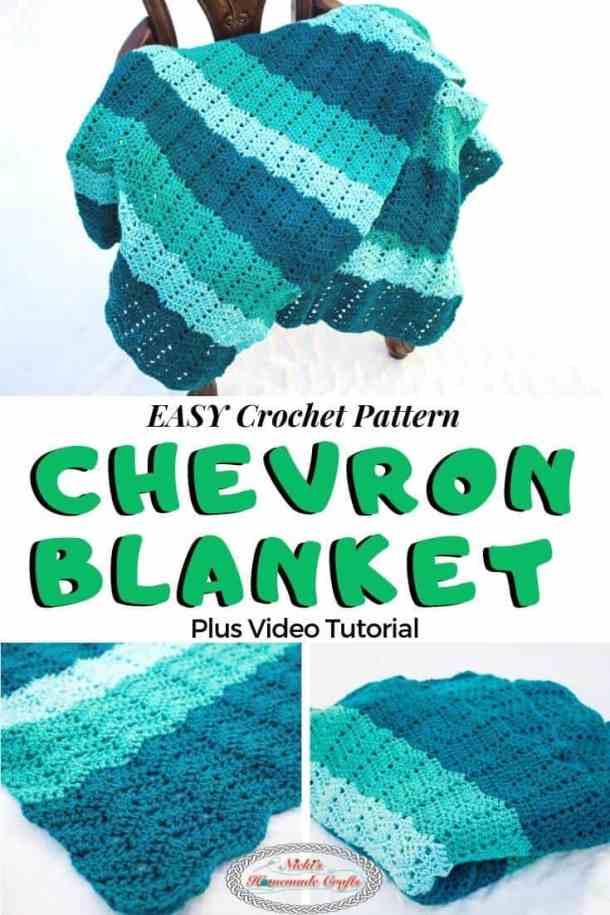 Easy Chevron Blanket