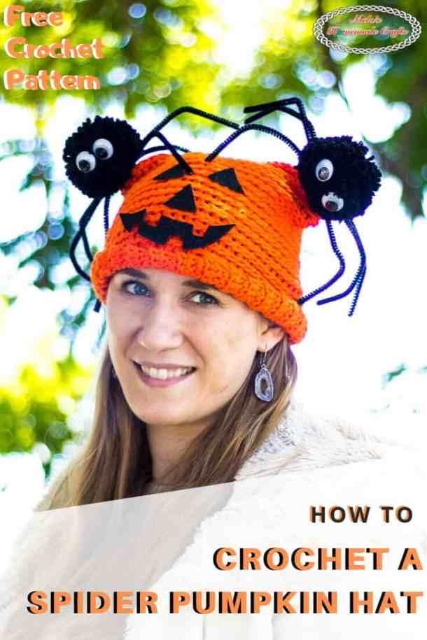 Spider Pumpkin Hat Pattern