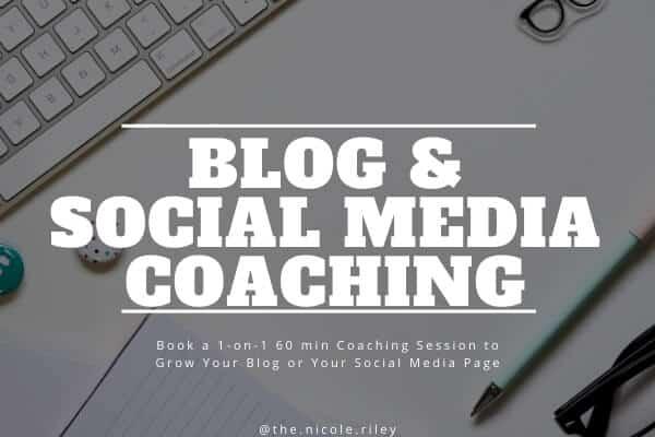 Blog and Social Media Coaching