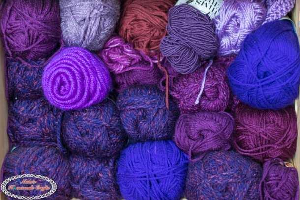 Organize Yarn the Right Way - Yarn Color