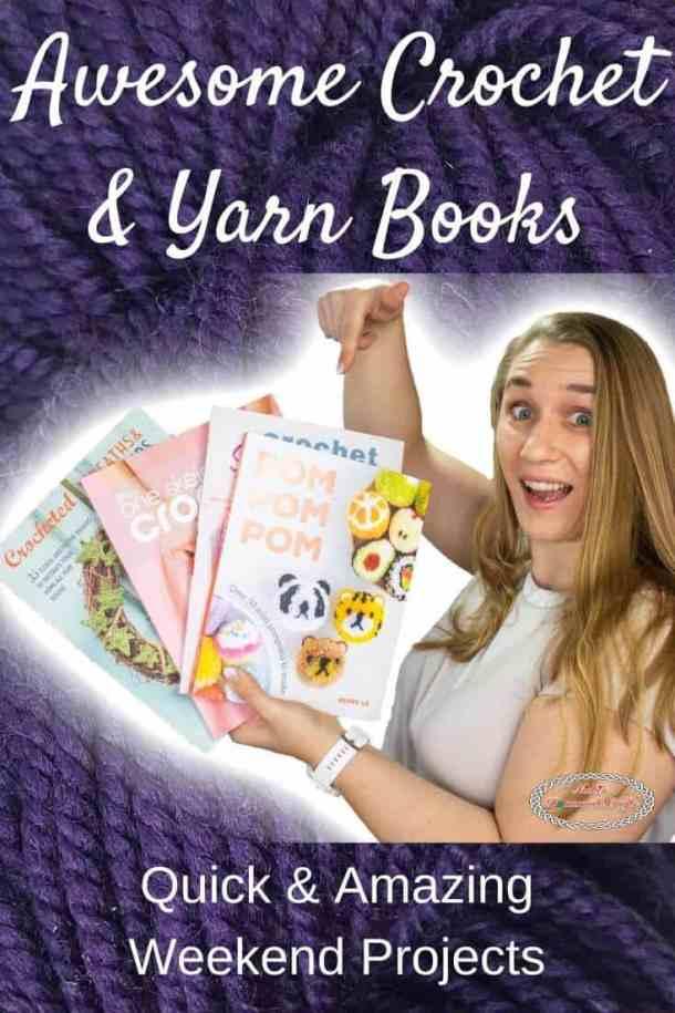 Awesome Yarn & Crochet Books by WeCrochet plus Crochet Patterns
