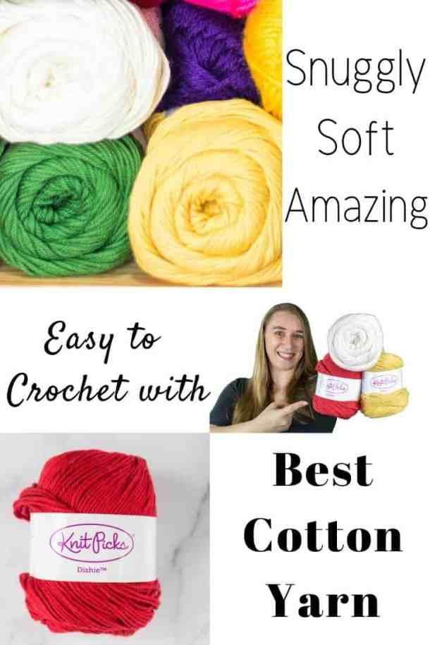 Best Cotton Yarn by WeCrochet plus Crochet Patterns