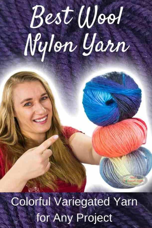Best Wool Nylon Yarn by WeCrochet plus Crochet Patterns
