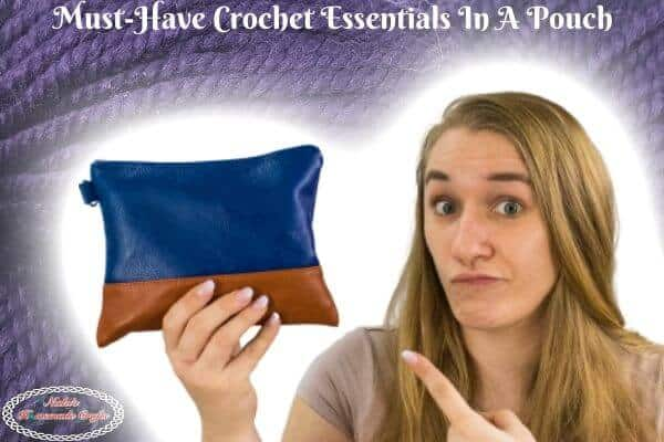 Must-Have Crochet Essentials in a Pouch