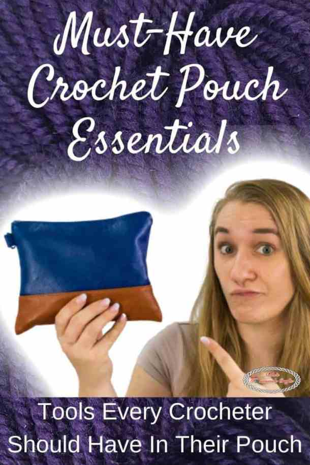 Must-Have Crochet Pouch Essentials by WeCrochet and Furls Crochet plus Crochet Patterns