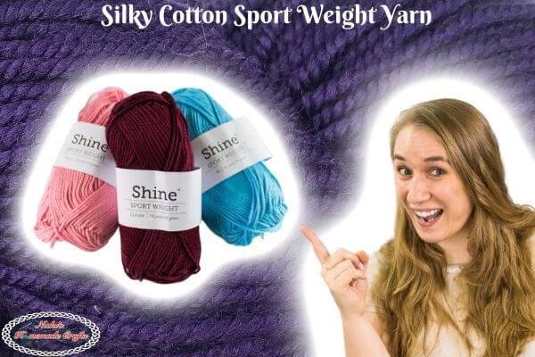 Silky Cotton Sport Yarn