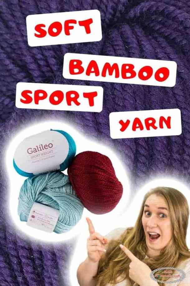 Super Soft Bamboo Sport Weight Yarn