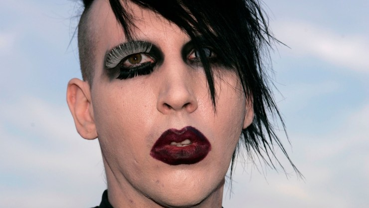 Here's What Marilyn Manson Really Looks Like Without Makeup