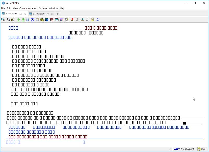 IBM i ACS 5250 EMULATOR FONT - and other ridiculous mumbo jumbo 6