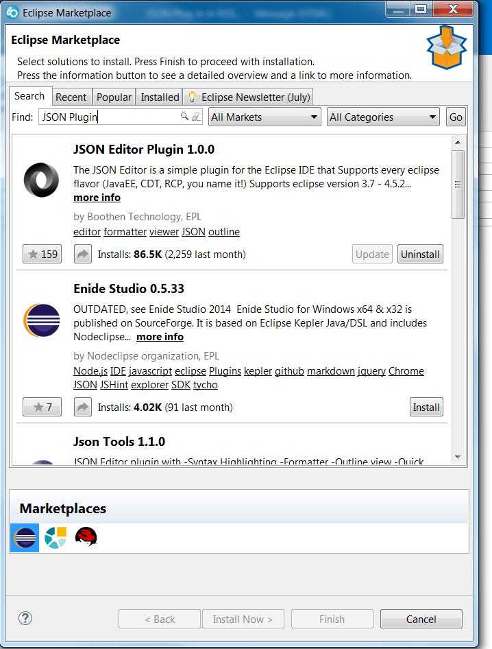 JSON Plugin for RDI 1