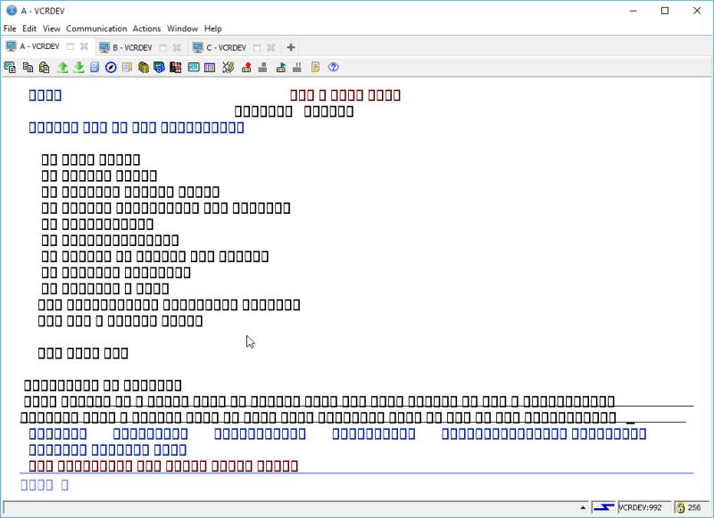 IBM i ACS 5250 EMULATOR FONT - and other ridiculous mumbo jumbo 18