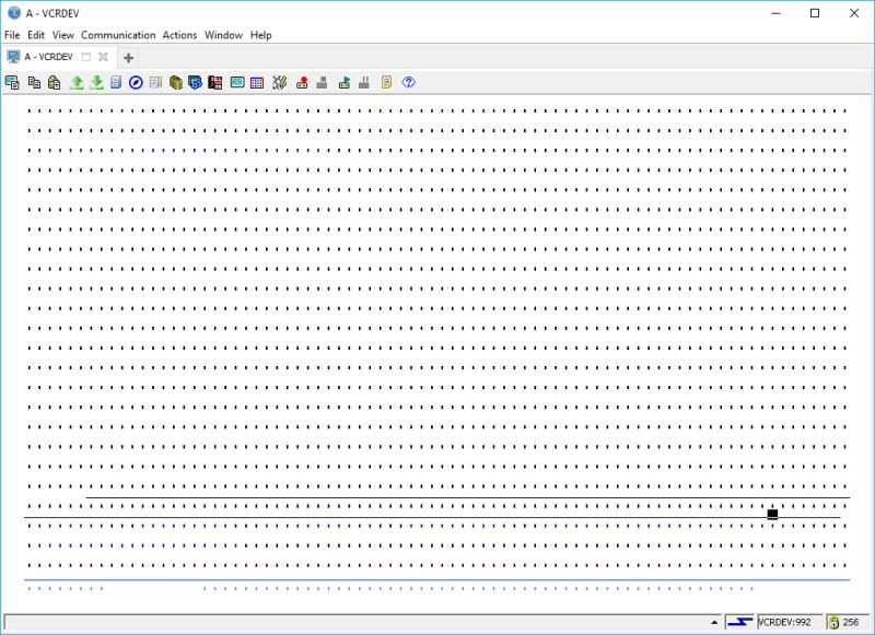 IBM i ACS 5250 EMULATOR FONT - and other ridiculous mumbo jumbo 3