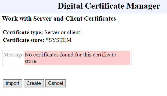 Playing with Secure (SSL) FTP on IBM i Power System 4