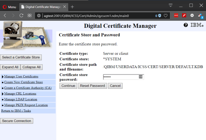 Playing with Secure (SSL) FTP on IBM i Power System 2