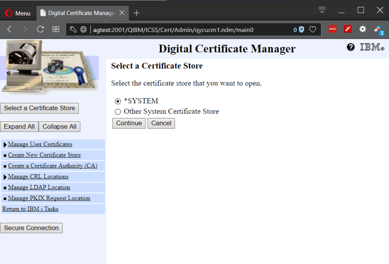 Playing with Secure (SSL) FTP on IBM i Power System 1