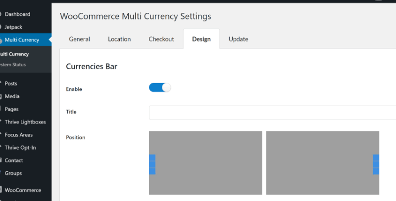 WooCommerce Multicurrency Free - on product pages only 4