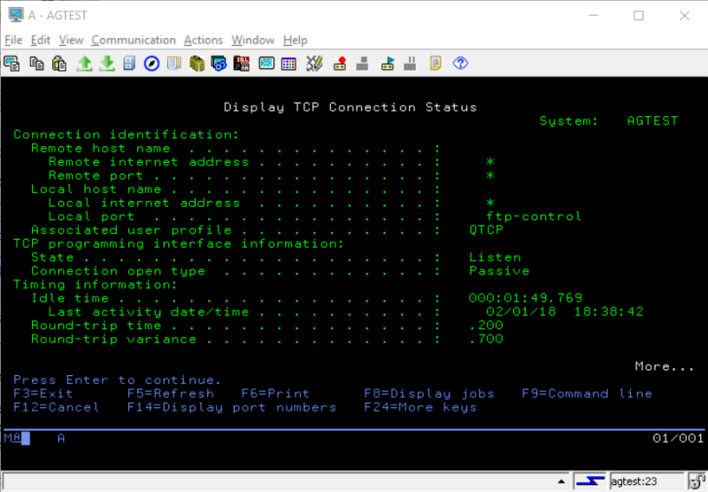 Playing with Secure (SSL) FTP on IBM i Power System 11