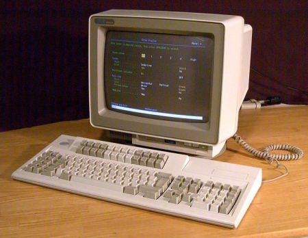 ibm 5250 screen terminal