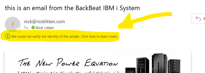 What is IBM i Email and SPF? 7