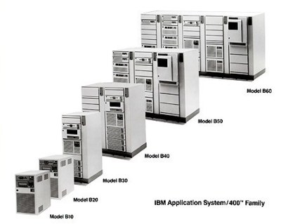 I remember the IBM AS/400 3