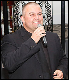 wedding MC and DJ hire