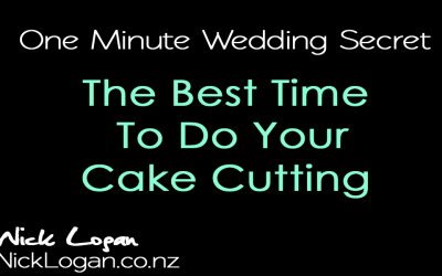 Simple Wedding Cake Cutting Idea that will help you streamline your reception