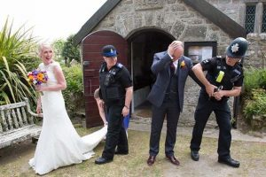 Who invited the Wedding Police to your wedding??