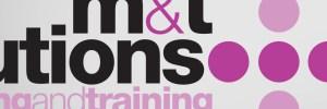 M&T Solutions Logo Branding