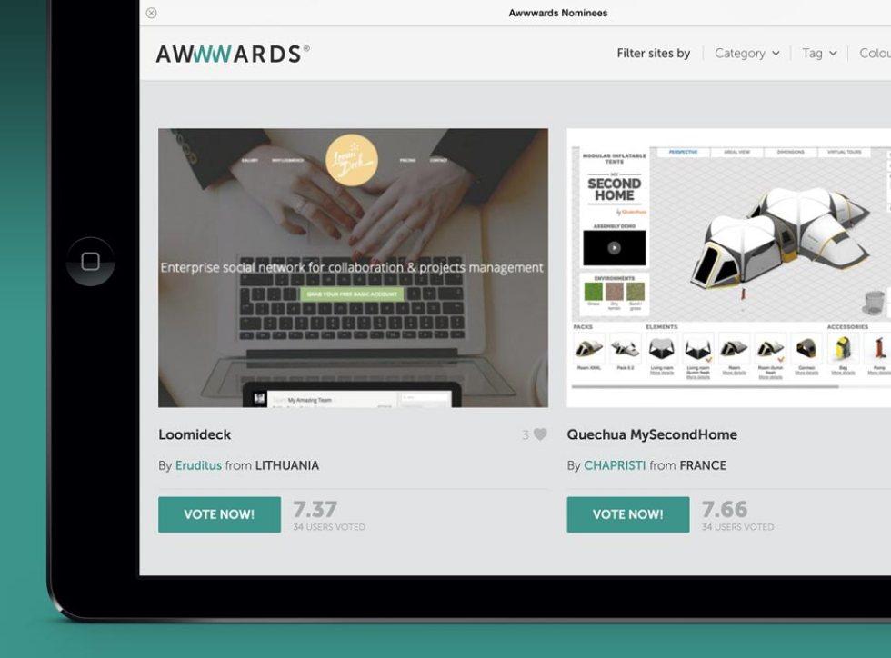 Awwwards Website Awards