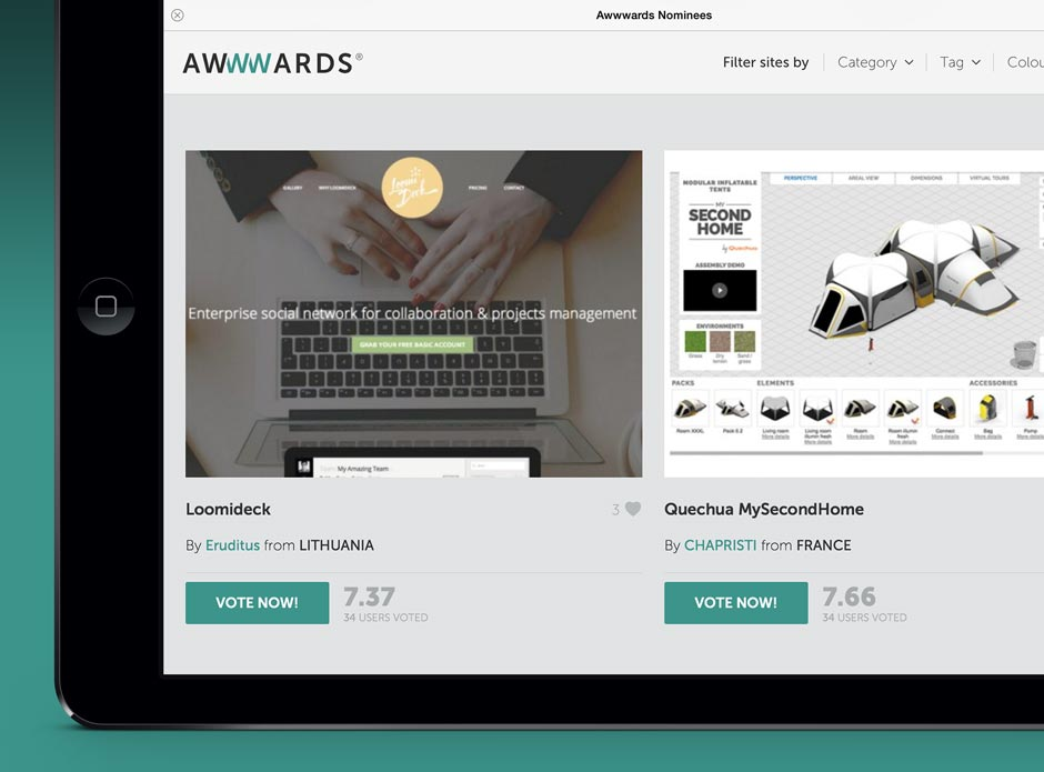 Awwwards Website Awards