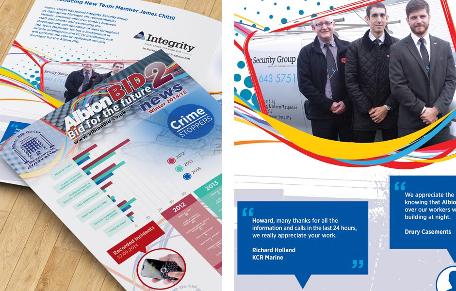 Albion BID News Security Winter 2014
