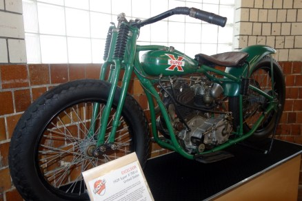 Excelsior 1929 Super X 750 cc from the U.S.