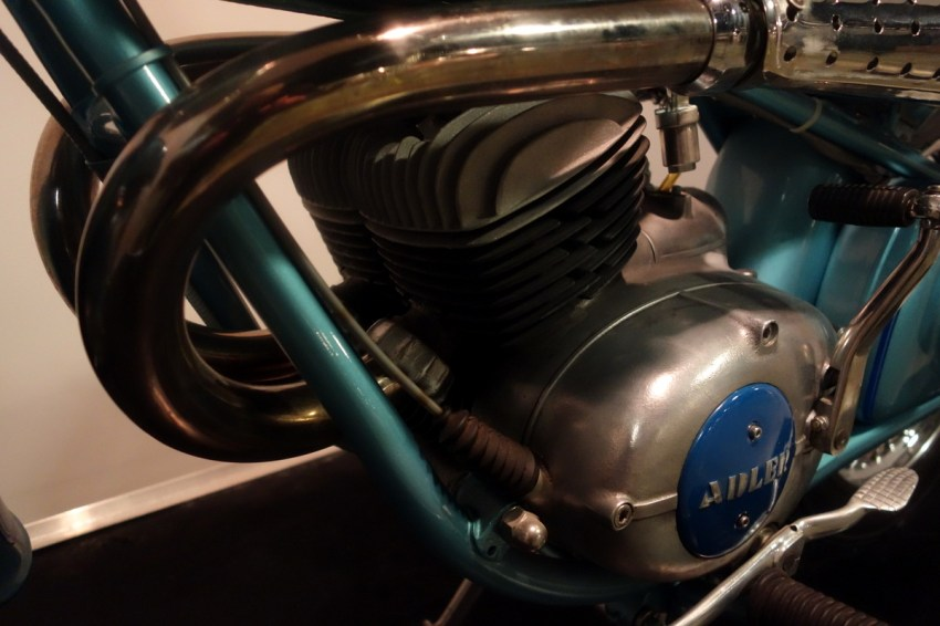 Adler 1953 MB250S 250 cc from Germany