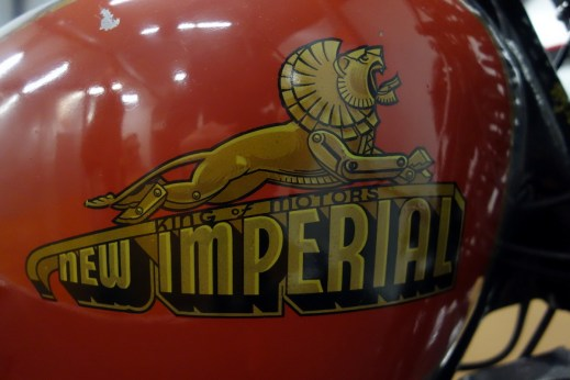 New Imperial 1936 Twin Port 500 cc from Great Britain