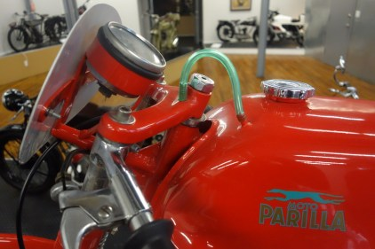 Parilla 1962 Corsa 125 cc from Italy - gorgeous fuel line wow