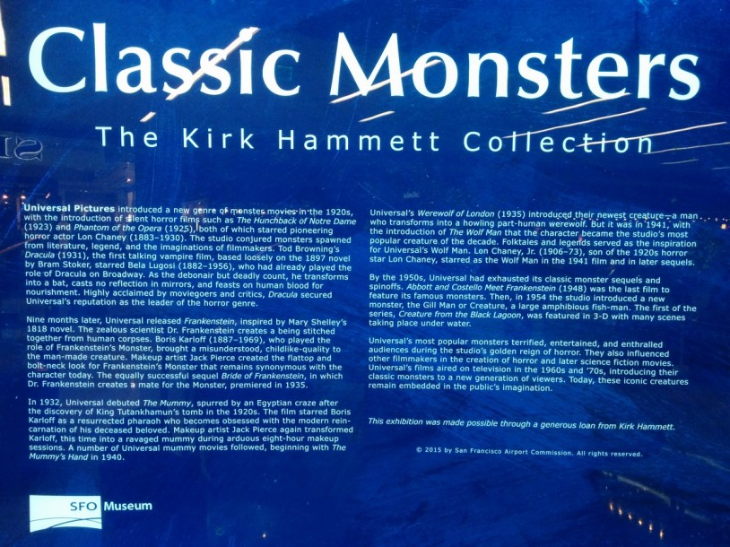 Classic Monsters, the Kirk Hammett Collection